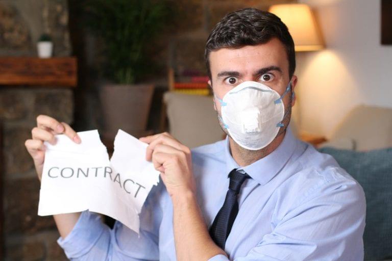 Coronavirus Lease Termination Letter Sample Form Contract Breach