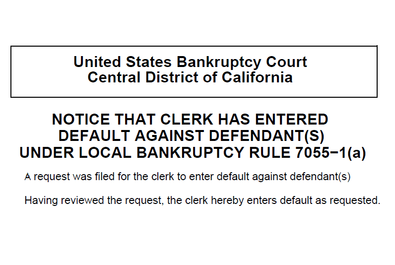 Motion to Set Aside Default Judgment in Bankruptcy Adversary Entry of Judgment Template Form Sample