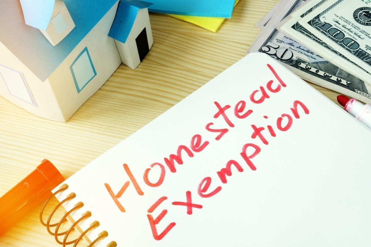 New California Homestead Exemption Bankruptcy AB 1885 SB 832 2020