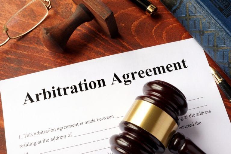Arbitration Enforcement Agreement Form Template