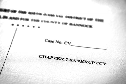 Chapter 7 Bankruptcy Dismissal or Conversion