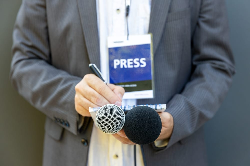 Press Reporter Legal Law Firm Lawyer California