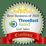 Scott Talkov Three Best Rated 2021