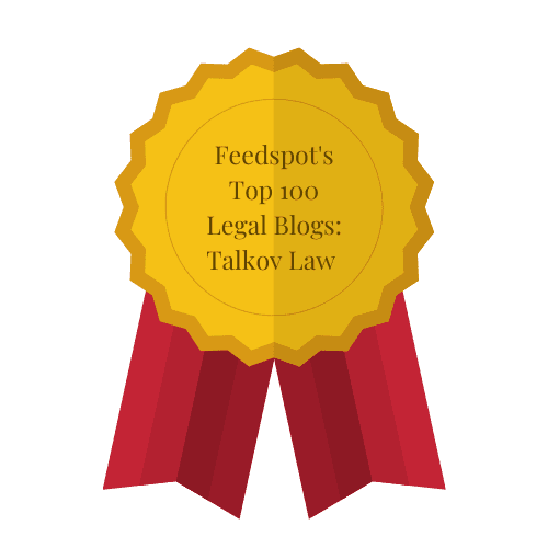 Feedspot's Top 100 Legal Blogs Talkov Law