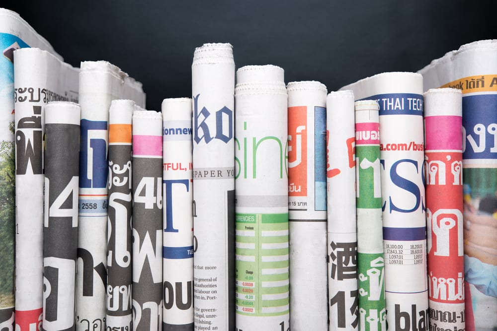 Foreign Language Newspapers Qualify for Adjudications as Newspapers of General Circulation