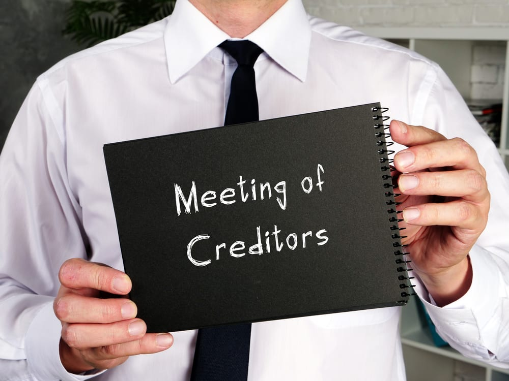 341 Meeting of Creditors Bankruptcy Attorney California