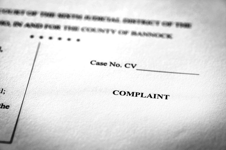 CCP 872.230 Complaint; contents Talkov Law