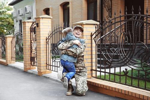 Military Child Custody & Visitation California