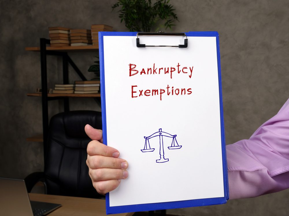 California Bankruptcy Exemptions Talkov Law