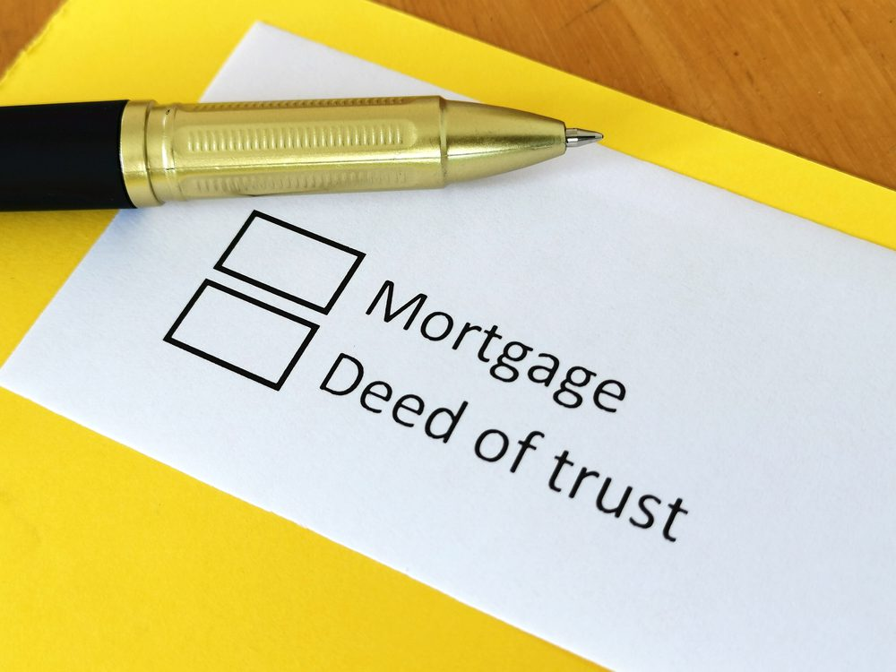 Mortgage vs Trust Deed Real Estate Lawyer